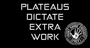 PLATEAUS DICTATE EXTRA WORK